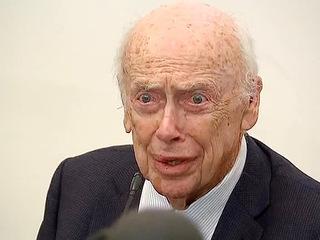 Лауреат Нобелевской премии Джеймс Уотсон выступил с лекцией в Петербурге