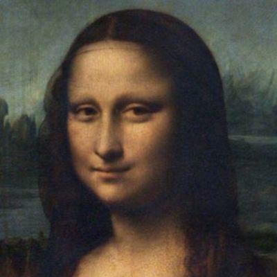 Картина Леонардо да Винчи «Мона Лиза» разрушается