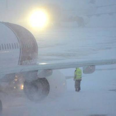 В аэропорту Южно-Сахалинска увеличилось количество задержанных рейсов