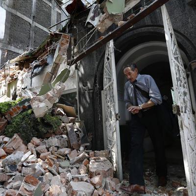 В Мехико после мощного землетрясения могут обрушиться 1,5 тысычи зданий
