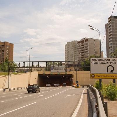 В Москве подтопило Лефортовский тоннель