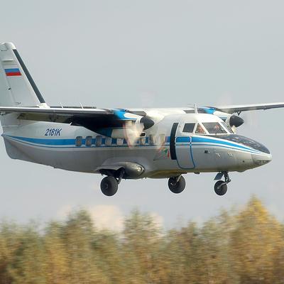 СамолетомЛ-410,который разбился в Хабаровскомкрае, управляли опытные пилоты