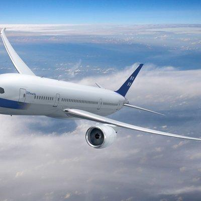 Международный рейс авиакомпании