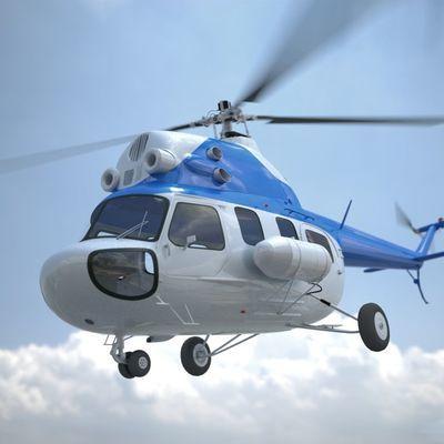 Вертолёт Ми-2 совершил жесткую посадку в Ростовской области