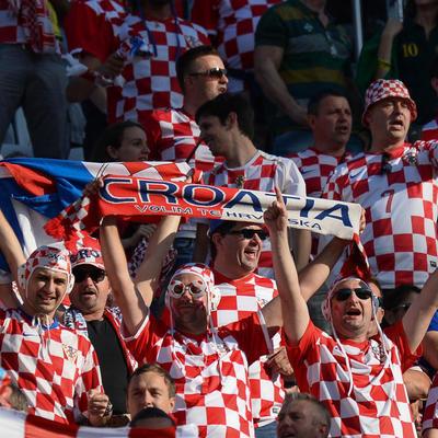В Загребе прошли массовые гулянья в честь выхода сборной страны в финал ЧМ-2018
