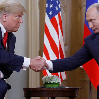 Встреча Путина и Трампа за закрытыми дверями на саммите в Хельсинки завершилась