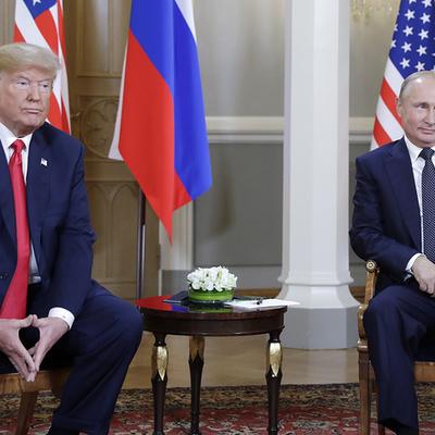 Переговоры Путина и Трампа тет-а-тет продолжаются уже около полутора часов