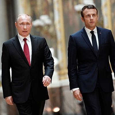 В понедельник Владимир Путин посетит Францию с рабочим визитом