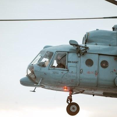 В поиске пропавших людей в зоне прорыва дамбы задействована авиация