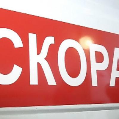 В Красноярске пикап влетел в остановку с людьми