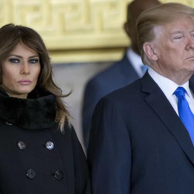 Дональд Трамп заменил в Белом доме мебель, которую выбрала его жена Меланья перед своим переездом из Нью-Йорка