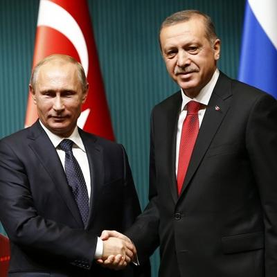 Путин и Эрдоган встретились в Берлине перед началом конференции по Ливии