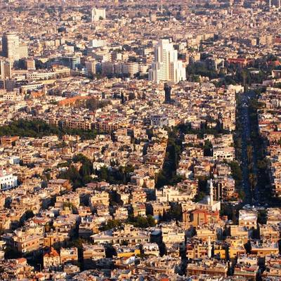 В квартале Дамаска Адави прогремел взрыв