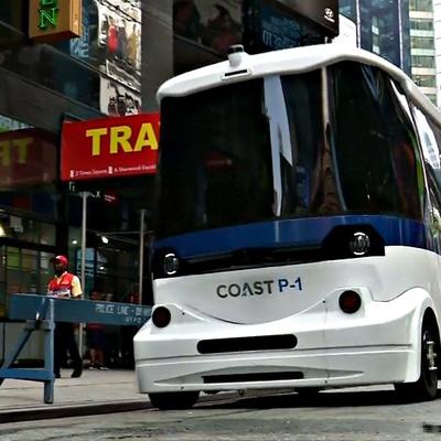 В японской столице Токио начали тестировать беспилотные автобусы