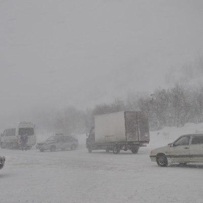Трасса в аэропорт Норильска закрыта из-за метели