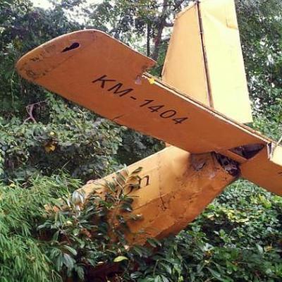 В Ботсване мужчина протаранил свой дом на самолете после ссоры с женой