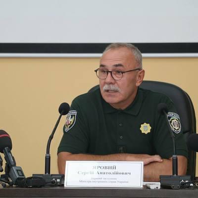 Сергей Яровой: авиация МВД Украины приведена в готовность