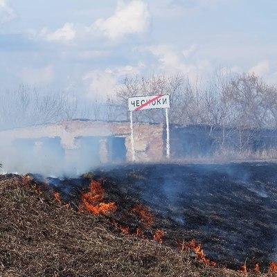 Пожарные предотвратили возгорание в селе Оренбургской области