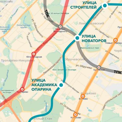 Участок Коммунарской линии метро построят к 2023 году