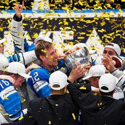Финляндия обыграла команду Канады в финале ЧМ по хоккею