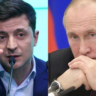 Путин и Зеленский впервые провели телефонные переговоры