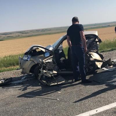 Массовое ДТП на Ставрополье: столкнулись шесть автомобилей