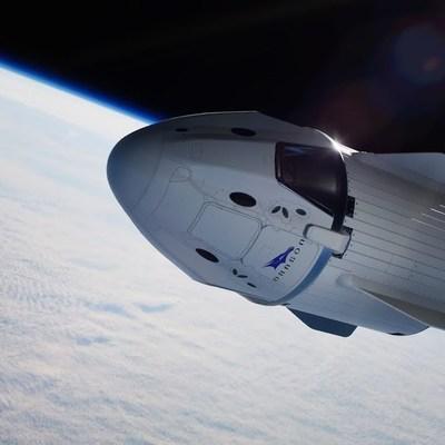 Испытание системы аварийного спасения космического корабля Crew Dragon прошло успешно
