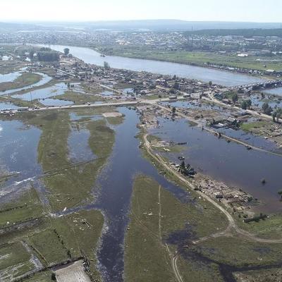 Пять участков защитного вала на реке Ия восстановили в Тулуне