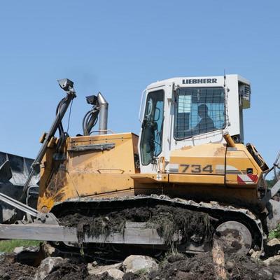 Военные восстановили размытые участки дорог в Тулуне