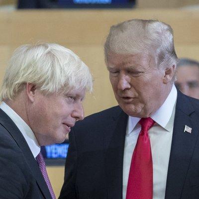 Трамп рассказал о возможном торговом соглашении с Великобританией