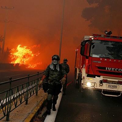 75 лесных пожаров ликвидировали в России за сутки