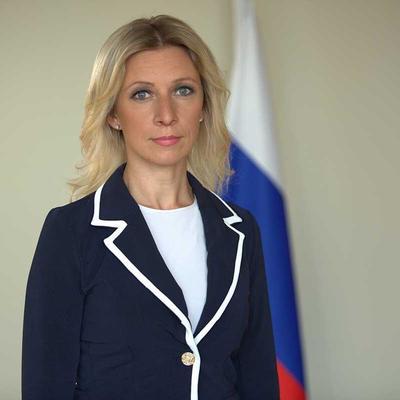 Захарова назвала слова Помпео будто позаимствованными с сайта российского МИДа