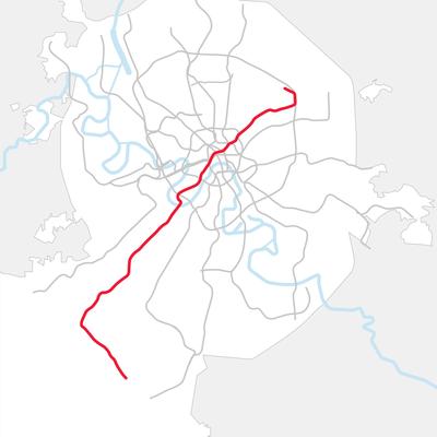 Девять станций Сокольнической ветки московского метро закрыли на неделю