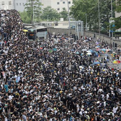 В Гонконге началась очередная акция протеста