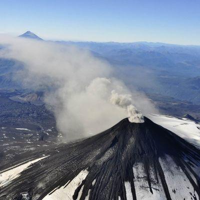На юге Чили начали отрабатывать план эвакуации из-за активности вулкана Вилльяррик
