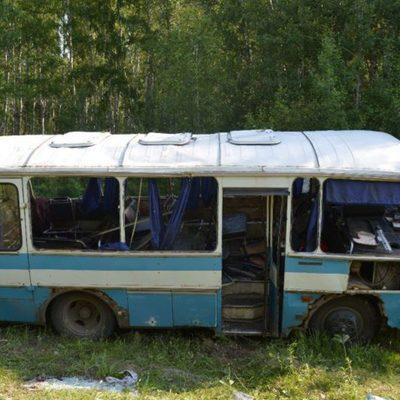 Автобус ПАЗ опрокинулся под Красноярском, пострадали 11 человек