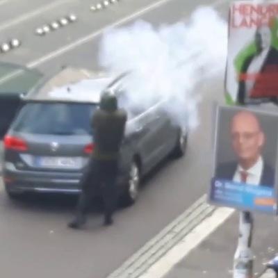 Преступник, обстрелявший в германском Галле синагогу, вёл прямую трансляцию