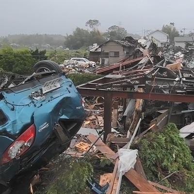 До 67 выросло число жертв тайфуна в Японии