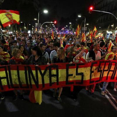 Полиция Барселоны применила спецсредства против протестующих