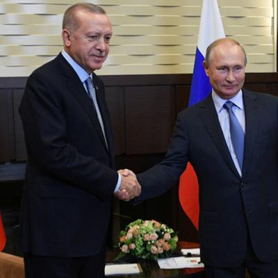 Переговоры в Сочи Путина с Эрдоганом продолжались более 6 часов