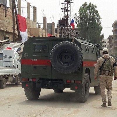 Минобороны РФ опубликовало карту с зоной патрулирования российской военной полиции в Сирии