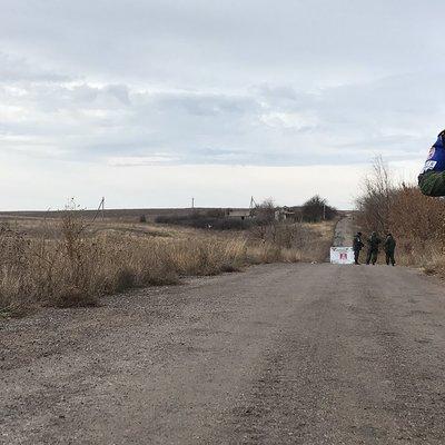 Ополченцы ДНР запустили сигнальную ракету