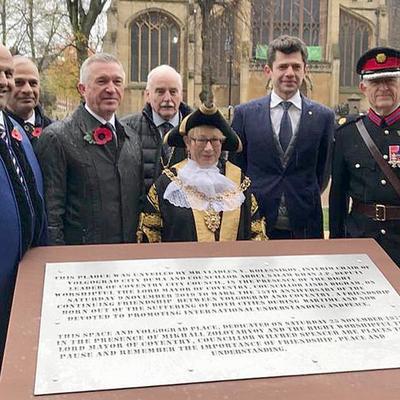 В центре Ковентри была открыта площадь, названная в честь города-героя Волгограда