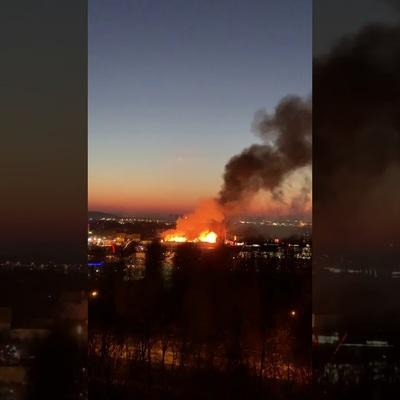 Пожарные локализовали возгорание, возникшее днем в поселке Дары Природы в Новой Москве
