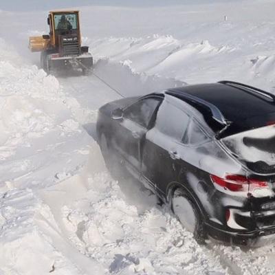 На восточные канадские провинции обрушился сильнейший снегопад