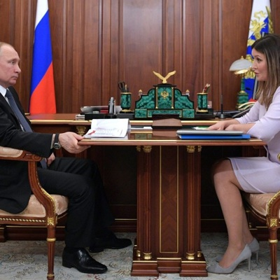 Путин встретился с гендиректором Агентства стратегических инициатив Светланой Чупшевой