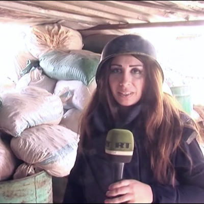 Корреспондент RT в Сирии Вафа Шабруни получила серьезное ранение в провинции Идлиб