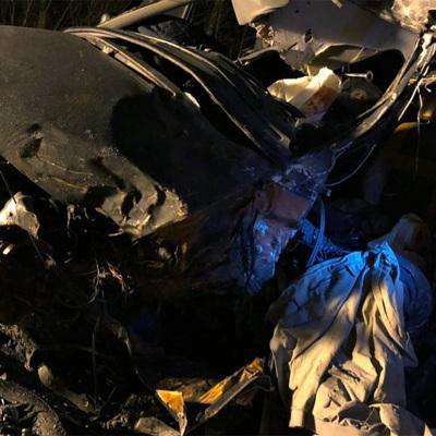Четыре человека, в том числе двое детей, погибли в ДТП под Новосибирском