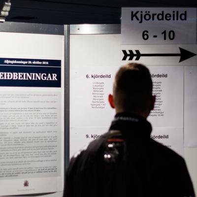 В Исландии завершили подсчет голосов на парламентских выборах
