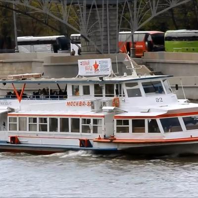 В Москве открылся сезон речной навигации
